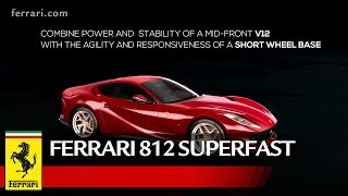 The 812 Superfast is the first Ferrari to introduce Electric Power Steering (EPS) which, in line with Ferrari tradition, is used to fully exploit the potential of the car in terms of performance by integrating it with all of the electronic vehicle dynamics controls.The car also sees the introduction of the Virtual Short Wheelbase 2.0 system (PCV) which, starting from the experience gained with the F12tdf, combines electric front-wheel steering assistance with the mechanical concept built around tyre dimensions and the rear-wheel steering. All integrated with the vehicle dynamics control systems based on Version 5.0 of the SSC, with the aim of improving the agility and response time to steering wheel inputs of the 812 Superfast.Go to the Web Special: http://812superfast.ferrari.comSubscribe ferrariworld: http://www.youtube.com/subscription_center?add_user=ferrariworldFollow us on Facebook http://www.facebook.com/Ferrari and Twitter http://twitter.com/ferrariFerrari Since 1947http://www.ferrari.com