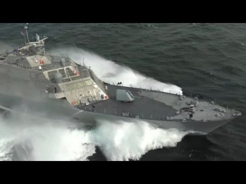 The Speed of this USS Milwaukee Ship will surprise you