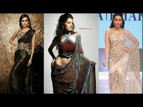 Latest Bollywood Designer Party Wear, Trendy,Stylish Sarees Design 2017-2018  by Trendy India