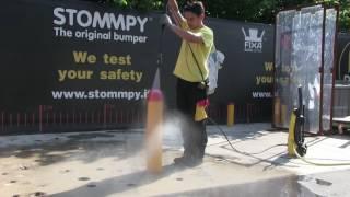 STOMMPY® IPX9K Bollard Testing