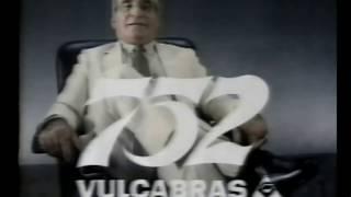 Comercial 752 Vulcabras - com Vicente Matteus 1989
