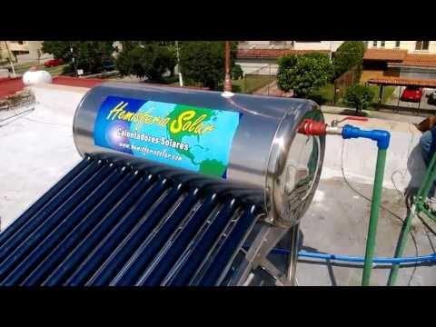 Aprenda a instalar su calentador solar (parte 2: Conexiones Hidráulicas)