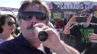 GIANT 420 JOINT with Trendy Nay and Crew HIGH TIMES Cannabis Cup 2016 by Urban Grower