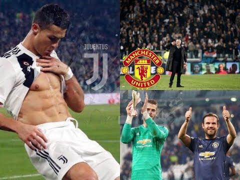   Cristiano Ronaldo Volley & Juan Mata Free Kick   Juventus 1-2 Manchester United   (08/11/2018)
