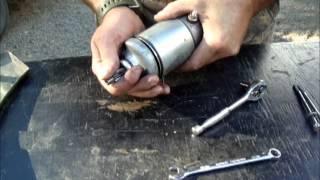 10. Repairing a honda 400 foreman starter