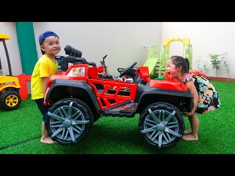 Kids pretend play Car Mechanic Learn how to help others Zohar Min