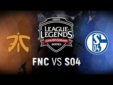 FNC vs. S04 - Week 9 Day 2 | EU LCS Spring Split | Fnatic vs. FC Schalke 04 (2018)
