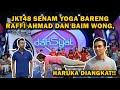 JKT48 Senam yoga di DahSyat Musik