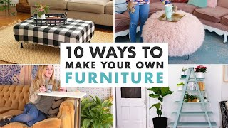 Video 10 DIY Furniture Projects - HGTV Handmade MP3, 3GP, MP4, WEBM, AVI, FLV September 2019