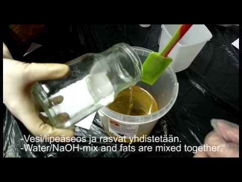 Vblog 25.10. - Teimme saippuoita | Making soaps