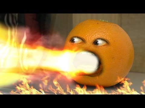 realannoyingorange - Orange drinks a bottle of hot sauce...and becomes a fire breathing annoyance! MERCH: AO TOYS! http://bit.ly/AOToys T-SHIRTS: http://bit.ly/AOatKohls iPHONE/...