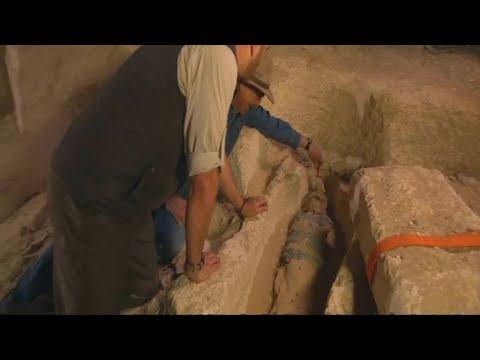 Ägypten: Zufallsfund - 2.500 Jahre alte Mumie einer H ...