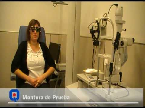 Pruebas cirugía láser ocular (lasik)
