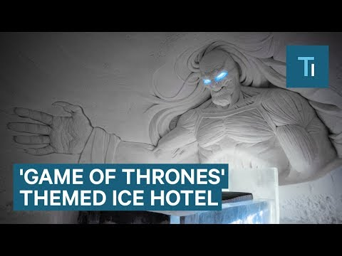 This 'Game of Thrones' Themed Hotel Is Made Of Snow And Ice