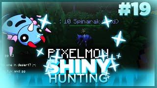 EPIC SHINY SPINERAK! Live Reaction! Pixelmon Minecraft Shiny Pokemon! #19 by aDrive