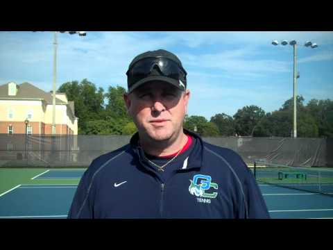 Steve Barsby - Men's Tennis Fall Championships Day 2