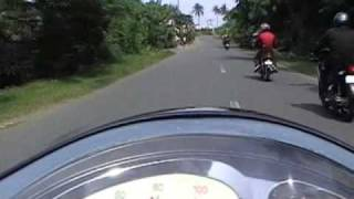 8. Baywatch, Real Quezon : On my Kymco People 150