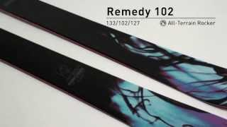 K2 Remedy 102 Skis - Women's 2014