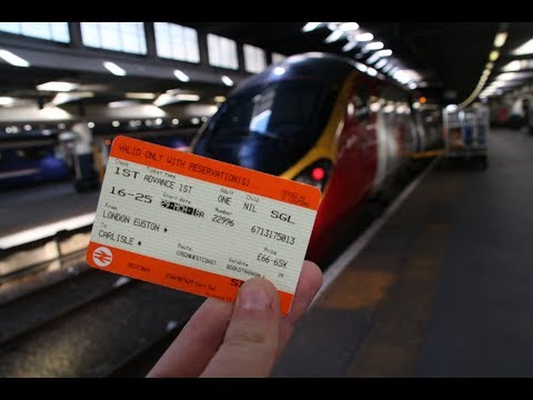 TRIP REPORT | Virgin Trains Pendolino First Class Experience *HD*