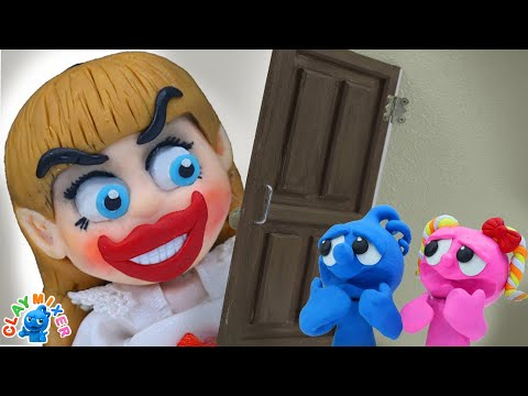 Behind The Door - Stop Motion Animation Cartoons