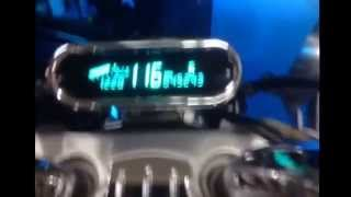 3. Testing the drum. Top speed on a 2006 Victory King Piin