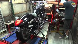 4. Suzuki boulevard M90 on dyno