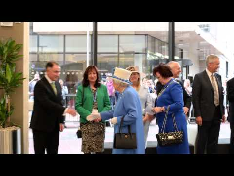 The Queen opens the Technology & Innovation Centre