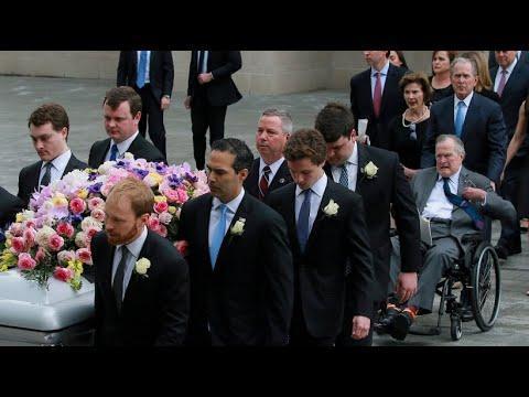 Abschied von Barbara Bush: 1.500 Trauergäste