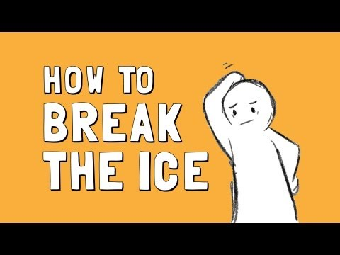 how to break the ice with a girl online