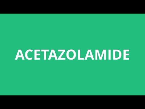 How To Pronounce Acetazolamide - Pronunciation Academy