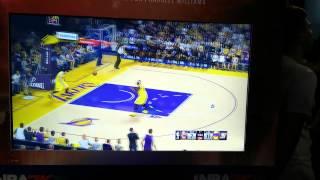 NBA 2K15 Gameplay Cavaliers at Lakers 1Q