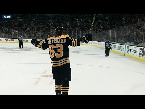 Video: Brad Marchand slows down, dekes out Cory Schneider