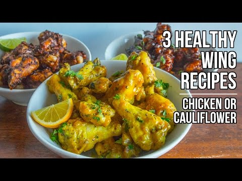 Awesome Coated Cauliflower (or Wings) Recipe [VIDEO]