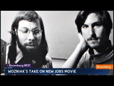 Jobs - Aug. 16 (Bloomberg) -- Steve Wozniak, co-founder of Apple Inc., talks about Apple co-founder Steve Jobs and the movie