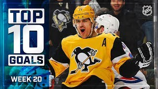 Top 10 Goals from Week 20 by NHL