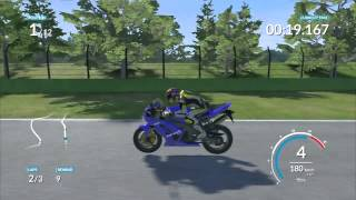 10. Ride Gameplay PS3 #30 : KAWASAKI NINJA ZX 6R 2004
