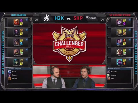 Prime - EU Challenger Summer 2014 playlist: http://bit.ly/1j3yhVb League of Legends Season 4 EU Challenger Summer series #2 SemiFinals! Third match of the day - SK Gaming Prime vs H2k Gaming best...
