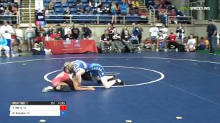 Cadet WM 106 Cons 16-2 - Trinity Berry (VA) vs. Gwendolyn Golueke (WI)