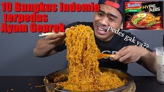 Video GILAA!! 10 PACKS INDOMIE  TERPEDES RASA AYAM GEPREK  HYPEABIS CHALLENGE MP3, 3GP, MP4, WEBM, AVI, FLV Maret 2019