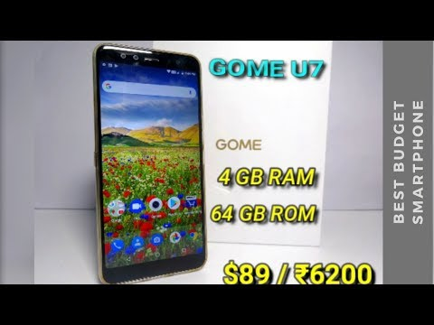 GOME U7 The Incredible Budget Smartphone ($89) You Have Never Heard Of | 4 GB RAM | 64 GB ROM