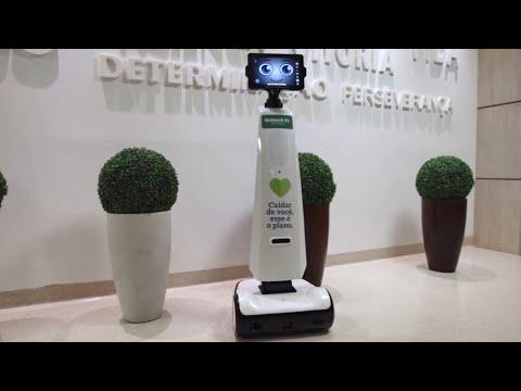 Unimed JP usa robô no tratamento de covid-19