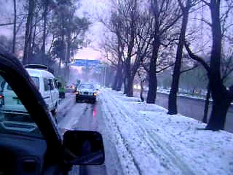 Snow or Hail in Lahore Video