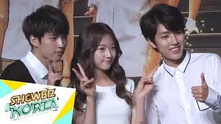 Video Showbiz Korea - PRESS CONFERENCE OF HI! SCHOOL - LOVE ON(하이스쿨 제작발표회) MP3, 3GP, MP4, WEBM, AVI, FLV Maret 2018
