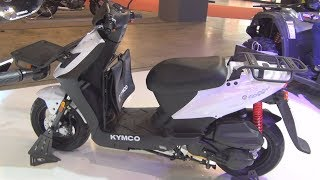 7. Kymco Agility Carry 125 (2017) Exterior and Interior