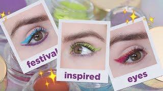 festival inspired eyes