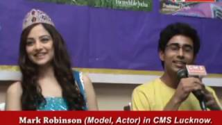 Zoya Afroz Femina Miss India, Marc Robinson, Suraj Sharma Press Conf
