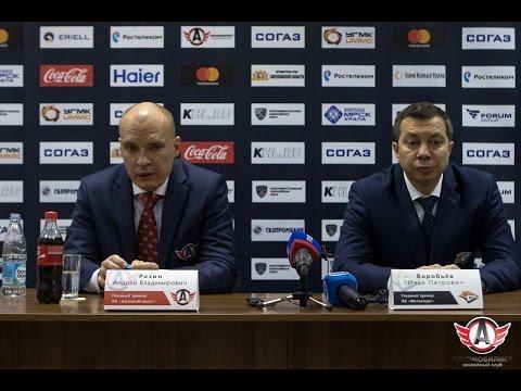 """""""Автомобилист"""" - """"Металлург"""". Пресс-конференция, 29.08.2016"""