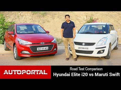 Comparison – Hyundai Elite i20 Vs Maruti Swift – Autoportal