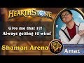 Hearthstone Arena - [Amaz] Give me that 12! Always getting 12 wins!