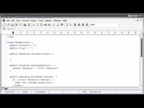 Php - extends Part 2